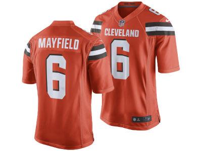 Cleveland Browns Baker Mayfield Nike NFL Men s Game Jersey 9feea2664