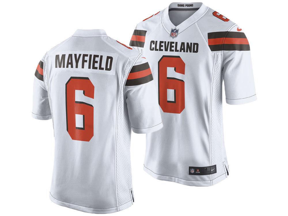aadd4db8808 Cleveland Browns Baker Mayfield Nike NFL Men s Game Jersey