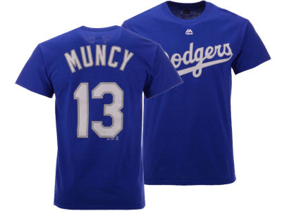 Los Angeles Dodgers Max Muncy Majestic MLB Men's Official Player T-Shirt