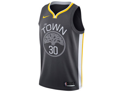 Golden State Warriors Stephen Curry Nike NBA Youth Swingman Icon Player Jersey