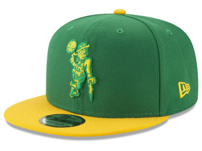 Boston Celtics New Era NBA City Pop Series 9FIFTY Snapback Cap