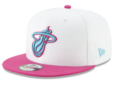 Miami Heat New Era NBA City Pop Series 9FIFTY Snapback Cap