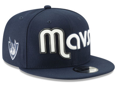 Dallas Mavericks New Era NBA Enamel Script 9FIFTY Snapback Cap