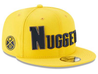 Denver Nuggets New Era NBA Enamel Script 9FIFTY Snapback Cap 5660e402b873