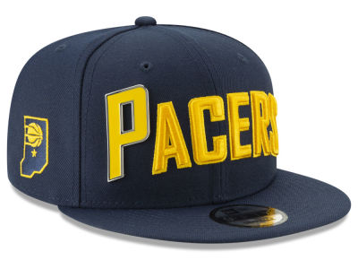 Indiana Pacers New Era NBA Enamel Script 9FIFTY Snapback Cap