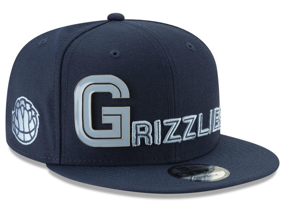 Memphis Grizzlies New Era NBA Enamel Script 9FIFTY Snapback Cap ... e6edd1bfcc2