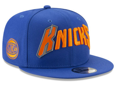 New York Knicks New Era NBA Enamel Script 9FIFTY Snapback Cap