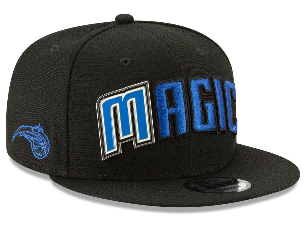 Orlando Magic New Era NBA Enamel Script 9FIFTY Snapback Cap  5a7337352e2f