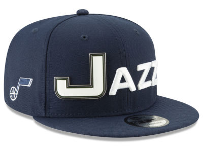 Utah Jazz New Era NBA Enamel Script 9FIFTY Snapback Cap