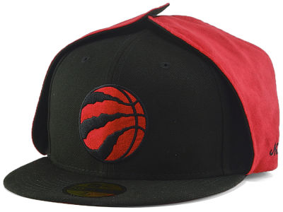 Toronto Raptors New Era NBA Dogear Patch 59FIFTY Cap