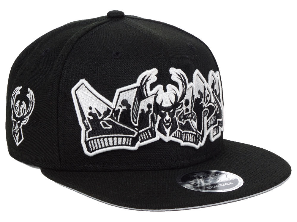 ... switzerland milwaukee bucks new era nba retroword black white 9fifty  snapback cap f2bcd f7da0 a869acb62538