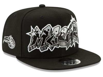 Orlando Magic New Era NBA Retroword Black White 9FIFTY Snapback Cap
