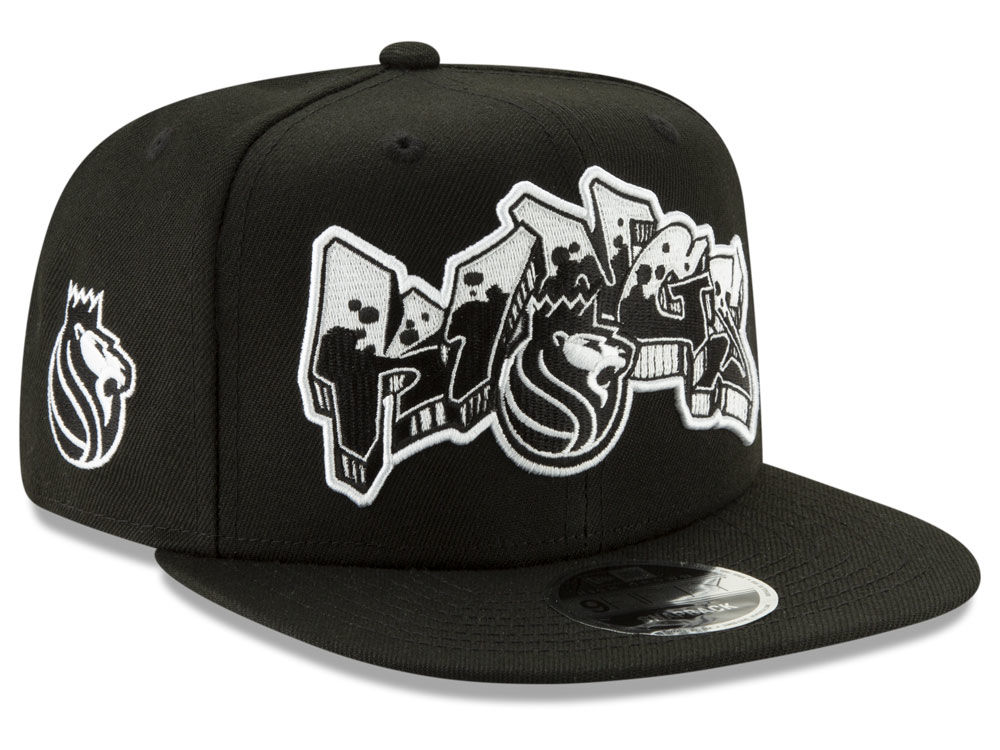 new style 1892d c8af8 ... good sacramento kings new era nba retroword black white 9fifty snapback  cap 60cdd 38c73