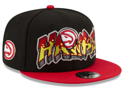 finest selection 0e7a6 20252 ... coupon for atlanta hawks new era nba youth retroword 9fifty snapback cap  49258 925d9
