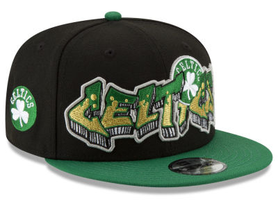 Boston Celtics New Era NBA Youth Retroword 9FIFTY Snapback Cap