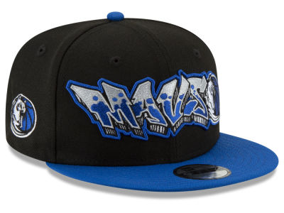 Dallas Mavericks New Era NBA Youth Retroword 9FIFTY Snapback Cap