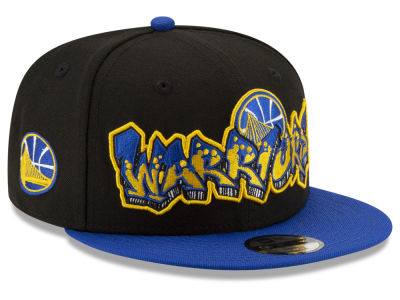 Golden State Warriors New Era NBA Youth Retroword 9FIFTY Snapback Cap