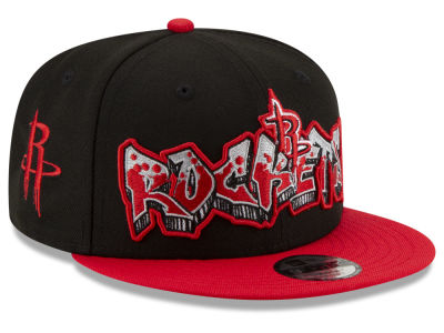 Houston Rockets New Era NBA Youth Retroword 9FIFTY Snapback Cap