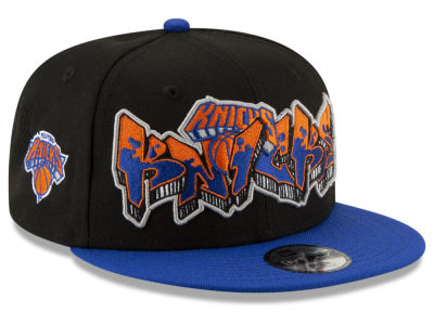 New York Knicks New Era NBA Youth Retroword 9FIFTY Snapback Cap