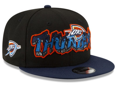 Oklahoma City Thunder New Era NBA Youth Retroword 9FIFTY Snapback Cap
