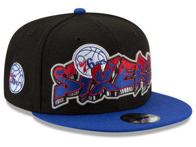 Philadelphia 76ers New Era NBA Youth Retroword 9FIFTY Snapback Cap
