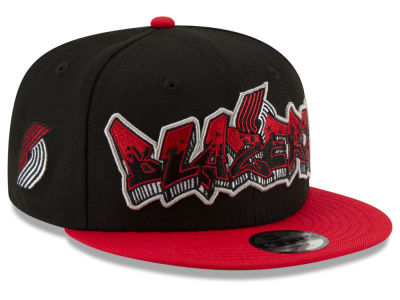 Portland Trail Blazers New Era NBA Youth Retroword 9FIFTY Snapback Cap
