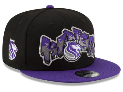 Sacramento Kings New Era NBA Youth Retroword 9FIFTY Snapback Cap