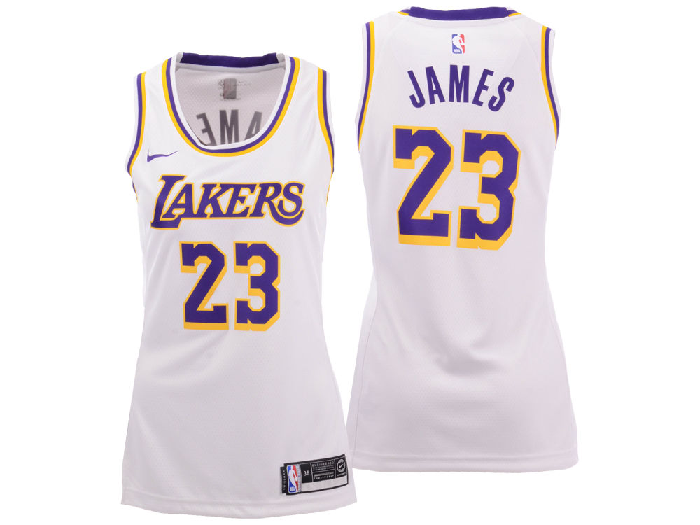 Los Angeles Lakers LeBron James Nike NBA Women s Swingman Jersey ... 1d5f1ec6b7