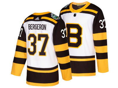 Boston Bruins Patrice Bergeron adidas 2019 NHL Men's Winter Classic Authentic Pro Jersey