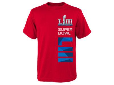 5a2de3766 Super Bowl LIII Outerstuff NFL Youth Super Bowl Sideline T-Shirt