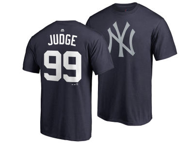 New York Yankees Aaron Judge MLB Men's Player's Weekend Name and Number T-Shirt