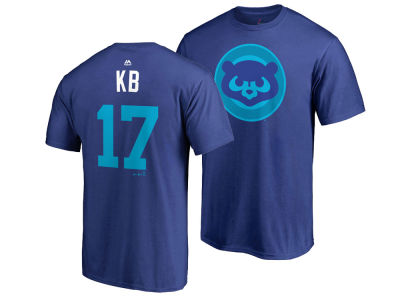 Chicago Cubs Kris Bryant MLB Men's Player's Weekend Name and Number T-Shirt