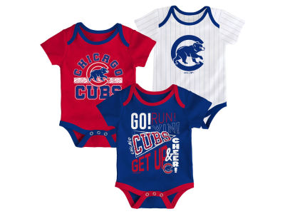 42896db10 Chicago Cubs Outerstuff MLB Infant Newest Rookie 3 Piece Set