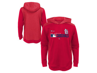 St. Louis Cardinals Majestic MLB Youth Winning Streak Hoodie