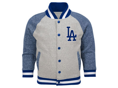 Los Angeles Dodgers Outerstuff MLB Toddler Game Pride Bomber Jacket