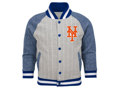 New York Mets Outerstuff MLB Toddler Game Pride Bomber Jacket
