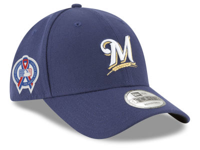 Milwaukee Brewers New Era 2018 MLB 9-11 Memorial 9FORTY Cap