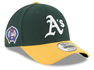 Oakland Athletics New Era 2018 MLB 9-11 Memorial 9FORTY Cap