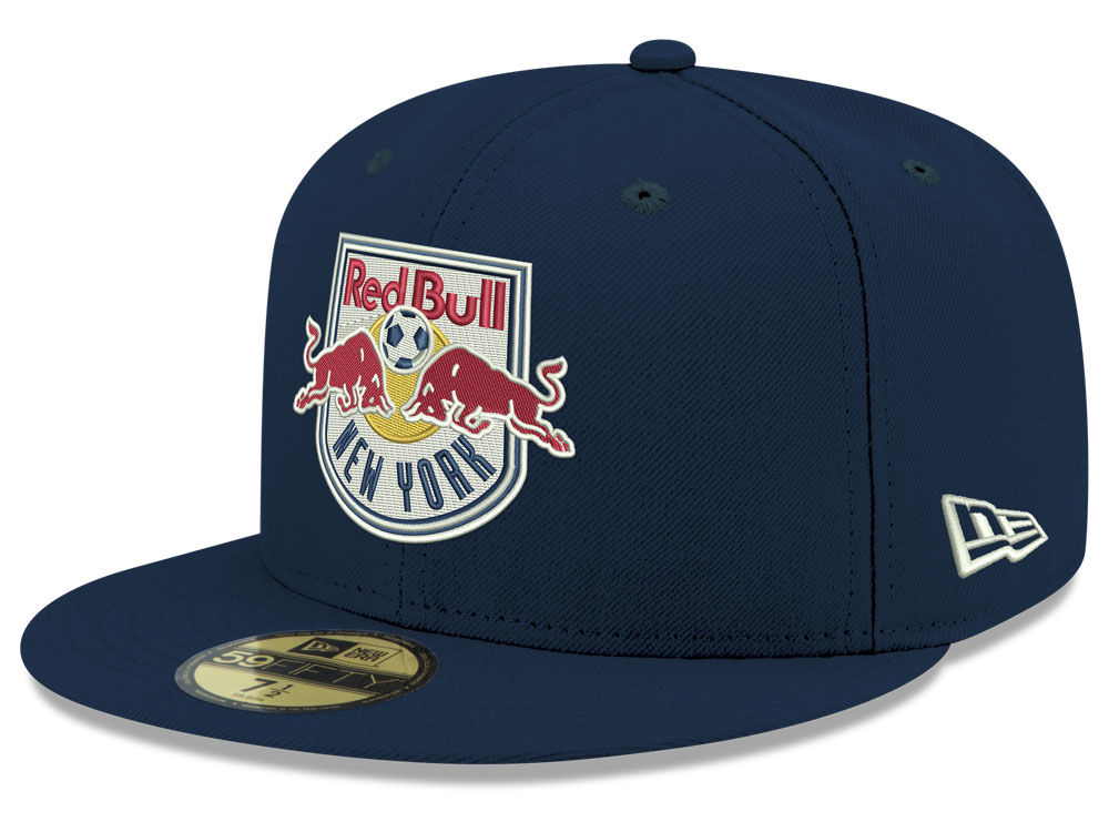New York Red Bulls New Era MLS Core 59FIFTY Cap  bbf3453b8c78