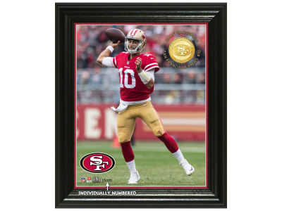 "San Francisco 49ers Jimmy Garoppolo  Highland Mint NFL ""Elite Series"" Minted Coin Photo Mint"