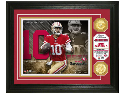 San Francisco 49ers Jimmy Garoppolo  Highland Mint NBA Bronze Coin Photo Mint