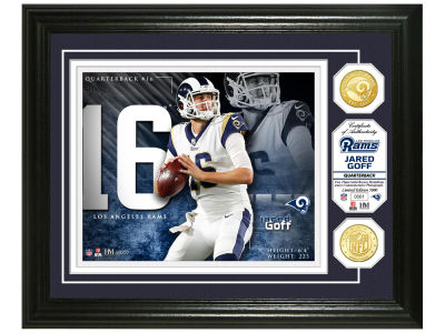 Los Angeles Rams Jared Goff  Highland Mint NBA Bronze Coin Photo Mint