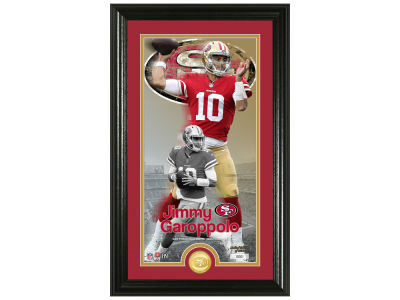 San Francisco 49ers Jimmy Garoppolo  Highland Mint Supreme Bronze Coin Photo Mint