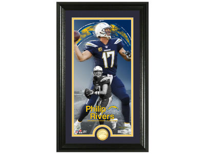 Los Angeles Chargers Philip Rivers Highland Mint Supreme Bronze Coin Photo Mint