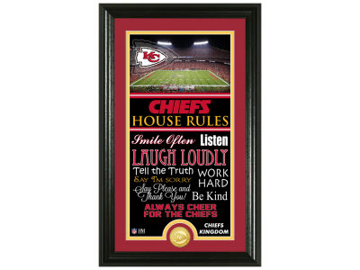 Kansas City Chiefs Highland Mint NFL House Rules Supreme Bronze Coin Photo Mint