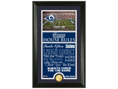 Los Angeles Rams Highland Mint NFL House Rules Supreme Bronze Coin Photo Mint