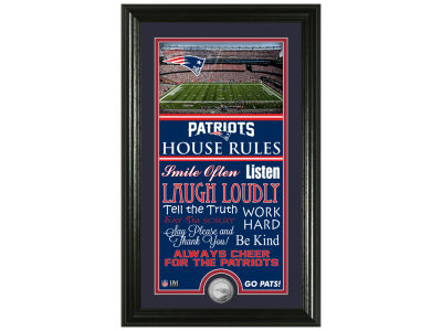 New England Patriots Highland Mint NFL House Rules Supreme Bronze Coin Photo Mint