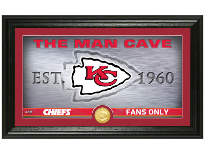 Kansas City Chiefs Highland Mint Man Cave Panoramic Bronze Coin Photo Mint
