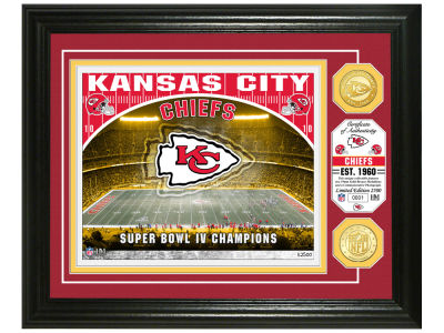 "Kansas City Chiefs Highland Mint ""Stadium"" Bronze Coin Photo Mint"