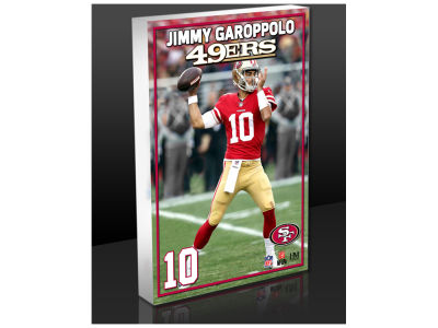 San Francisco 49ers Jimmy Garoppolo Highland Mint NFL Commemorative 3D Art Block